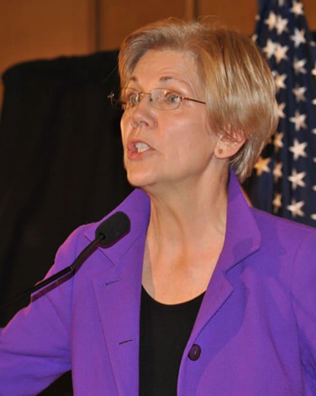 GOP Silencing Of Elizabeth Warren Backfires Promo Image