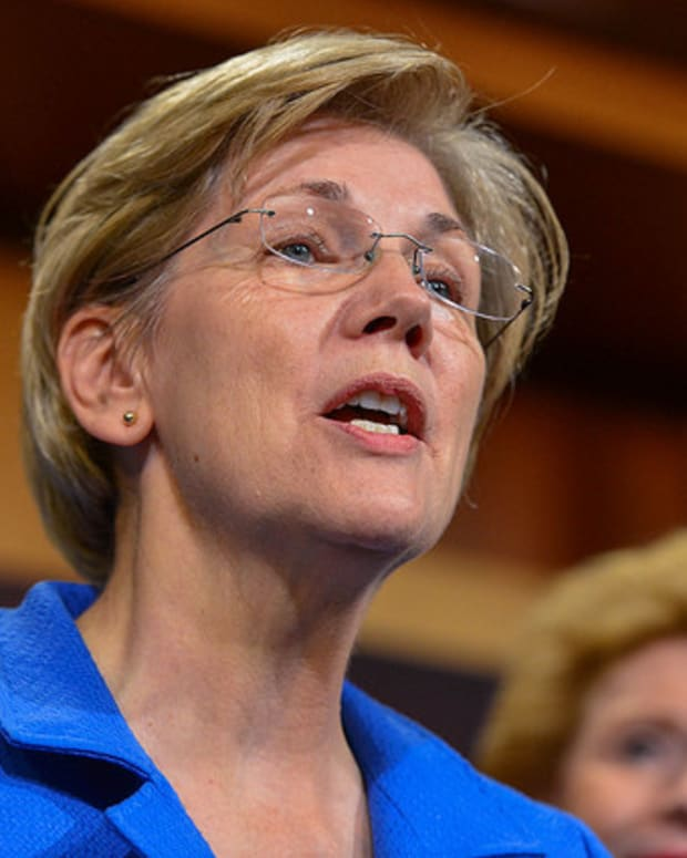 Warren: Investigate The Lack Of Wall Street Prosecutions Promo Image