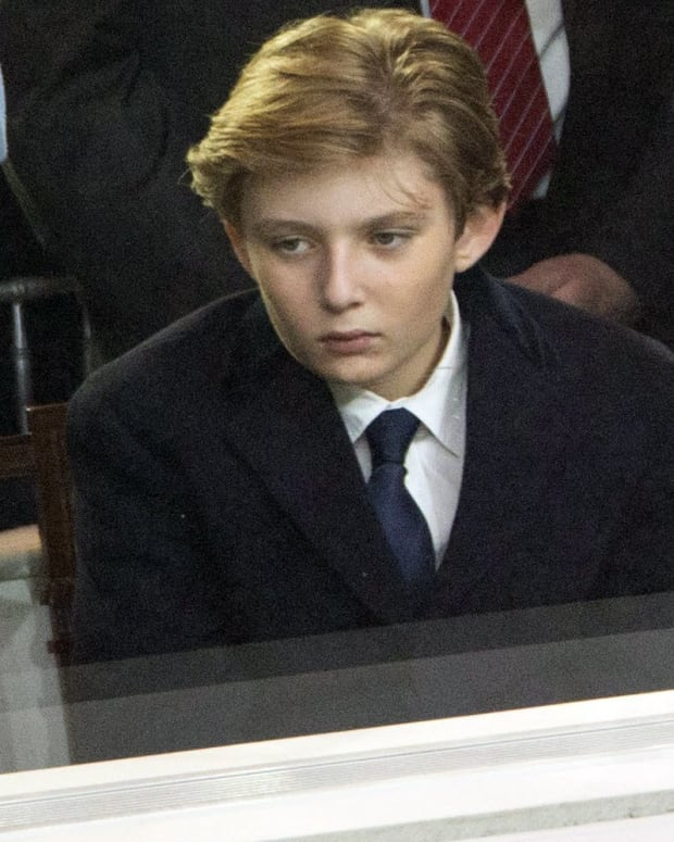 Professor Accused Of Bullying Barron Trump (Photo) Promo Image