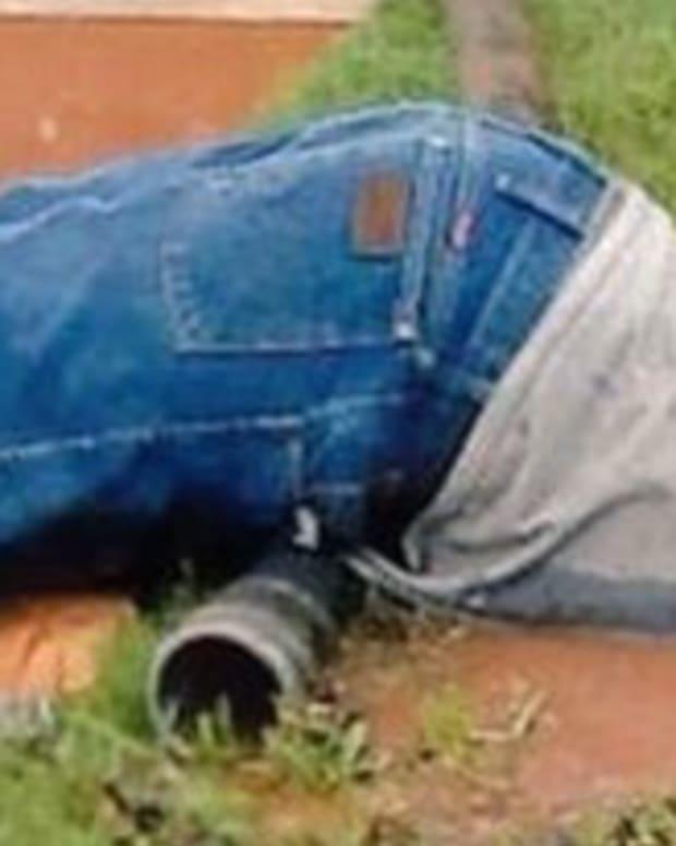 Photo Of Submerged Utility Worker Goes Viral (Photo) Promo Image