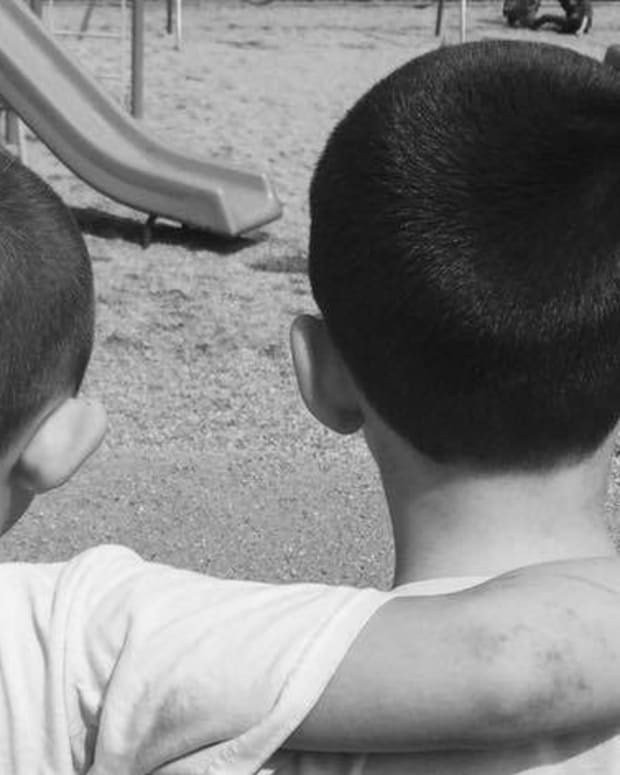 Young Boy Buzzes Hair To Support Friend (Photo) Promo Image
