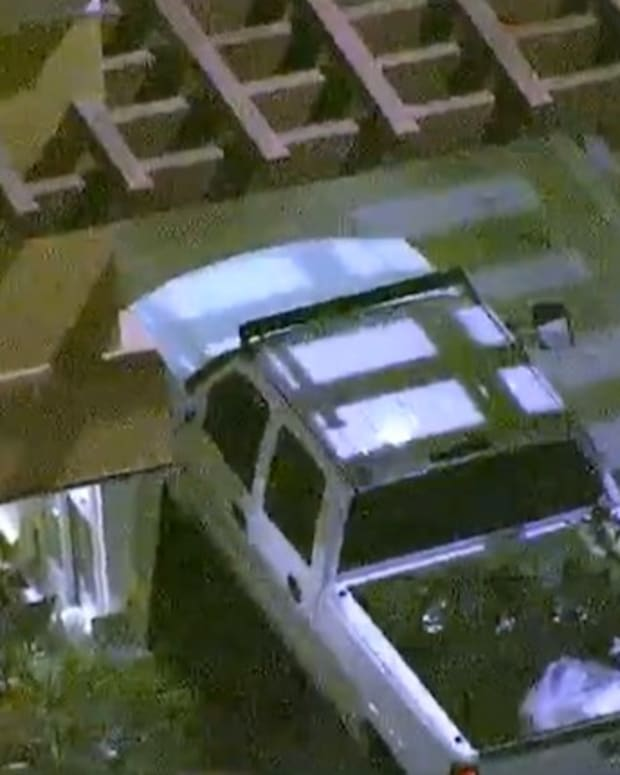 Man Stops At Drive-Thru During Police Chase (Video) Promo Image