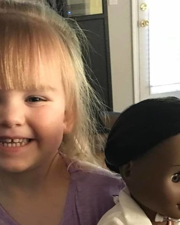 Girl's Response To Cashier Over Black Doll Goes Viral (Photo) Promo Image