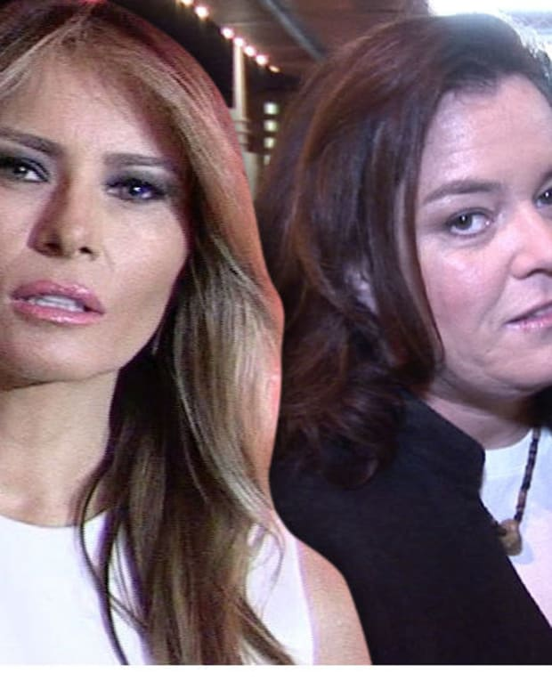 Melania Trump Calls Rosie O'Donnell A 'Bully' For Autism Video Promo Image