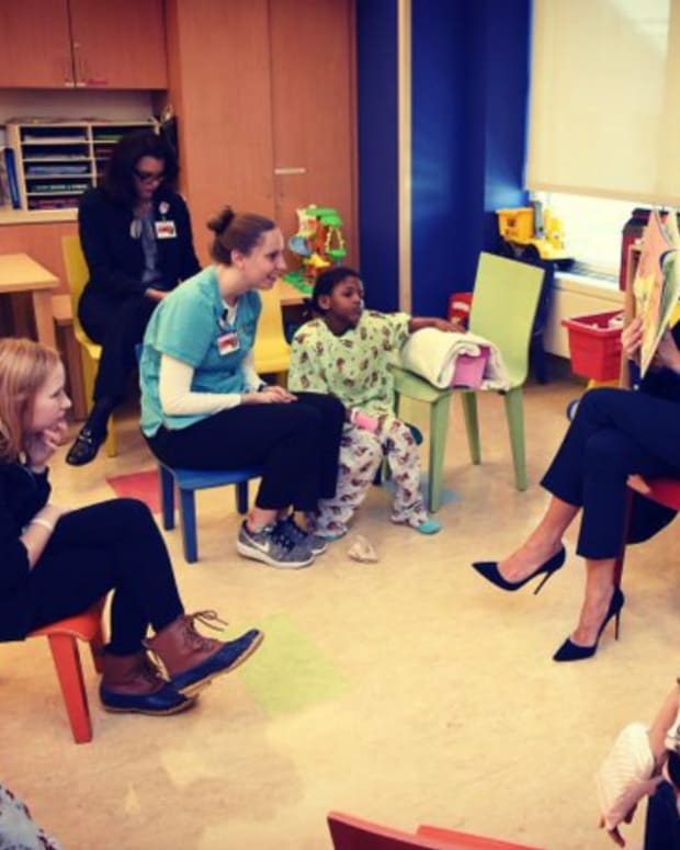 Melania Trump Reads Dr. Seuss, Gets Surprising Reaction (Video) Promo Image