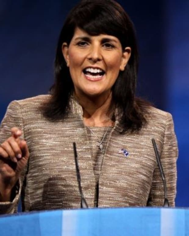 Trump Jokes About 'Easily' Replacing Nikki Haley Promo Image