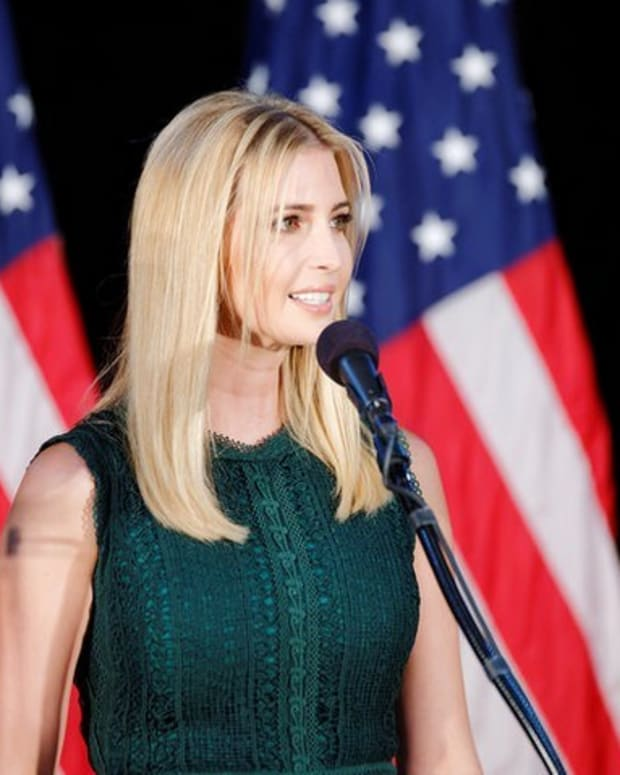 Ivanka Suggests Openness To Letting In Syrian Refugees Promo Image