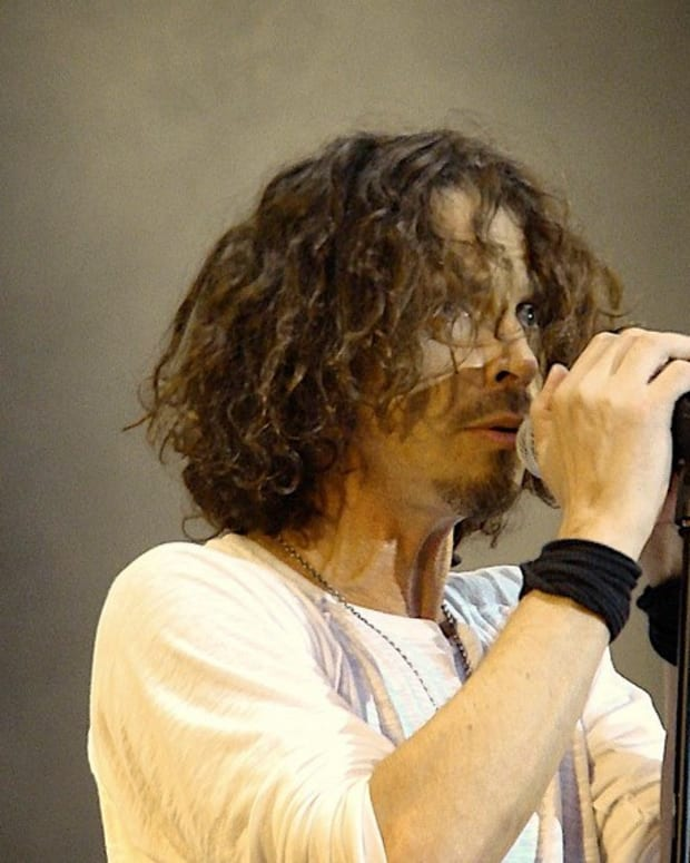 Chris Cornell Found With Track Marks On His Arm Promo Image