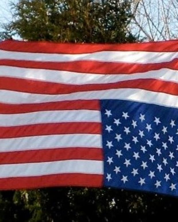 Veteran Arrested For Desecrating US Flag In Protest Promo Image