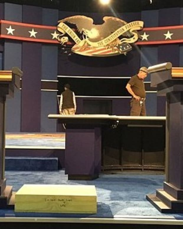 Hillary Clinton's Debate Podium Will Be Modified Promo Image