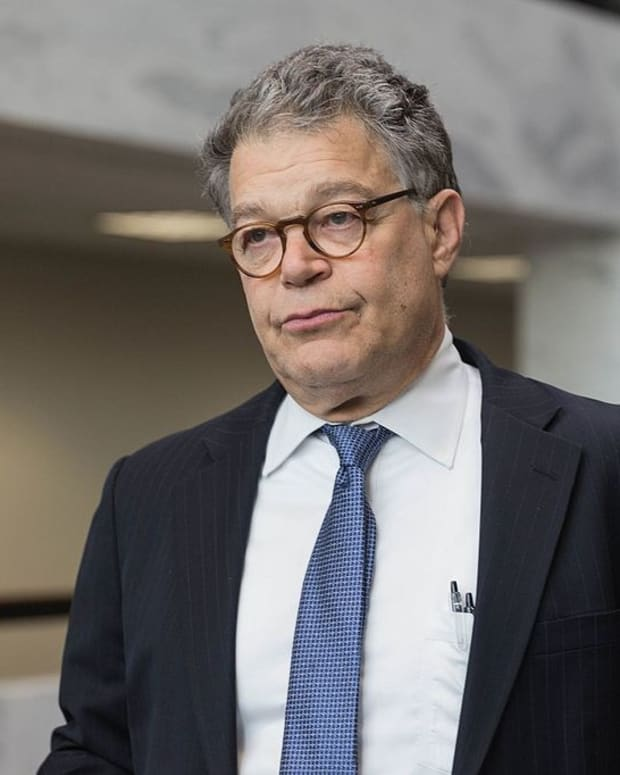 Al Franken Denounces Health Care Bill Promo Image
