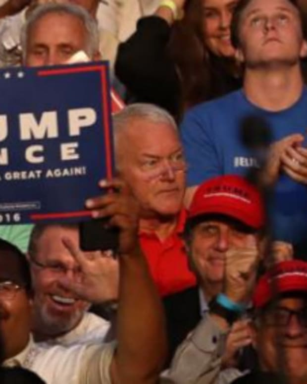 Embarrassing Supporters Go To Trump And Clinton Rallies Promo Image