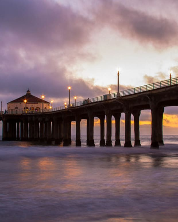 Man Who Jumped Off CA Pier Found In Unlikely Place Promo Image