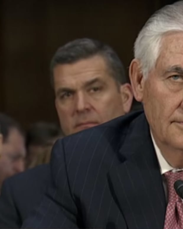 Watch Marco Rubio Grill Rex Tillerson On Russia (Video) Promo Image