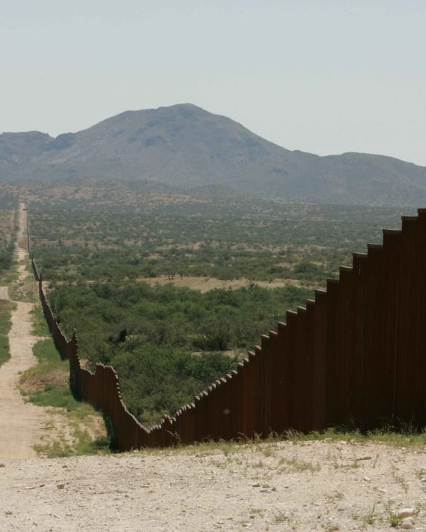 Donald Trump Won't Build The Massive Border Wall He First Said He Would Promo Image