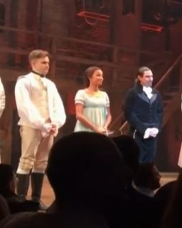 Pence Says No Need For Apology From Hamilton Cast Promo Image