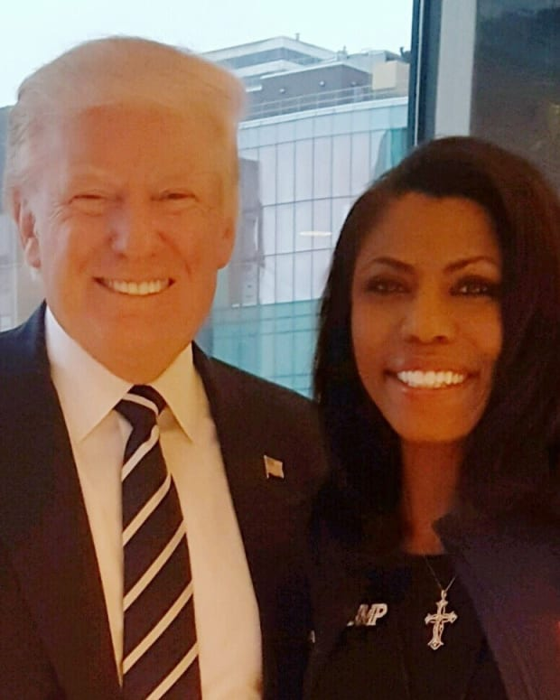 Reality TV Star Omarosa May Work Alongside Trump Promo Image