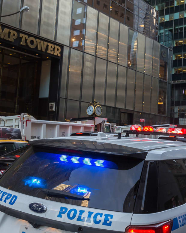 Providing Trump Tower Security Costs NYC $308,000 A Day (Video) Promo Image