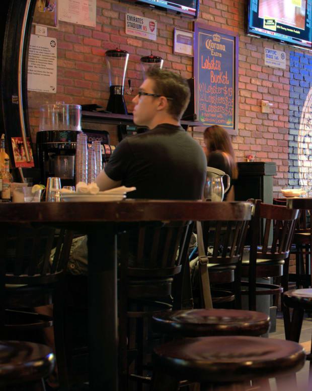 Waitress Saves Toddler Choking On A Chip Promo Image