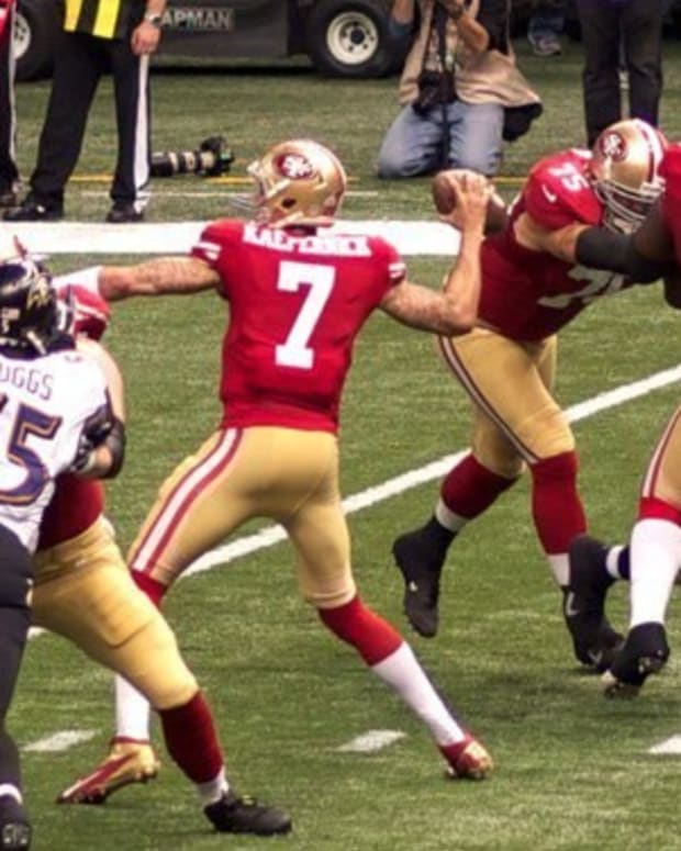 San Francisco 49ers Decide Not To Cut Kaepernick, Get Some Unfortunate News Promo Image