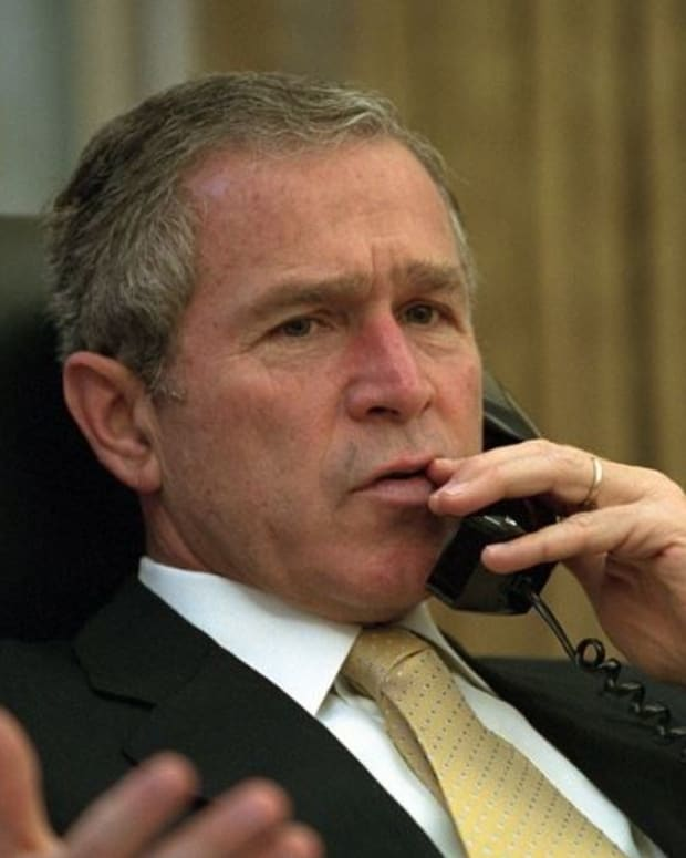 George W. Bush: Media 'Indispensable' To Democracy  Promo Image