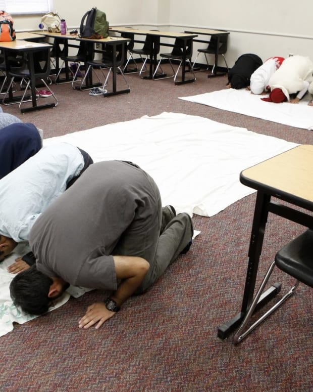 Prayer Rooms In Public Schools Are Unconstitutional Promo Image