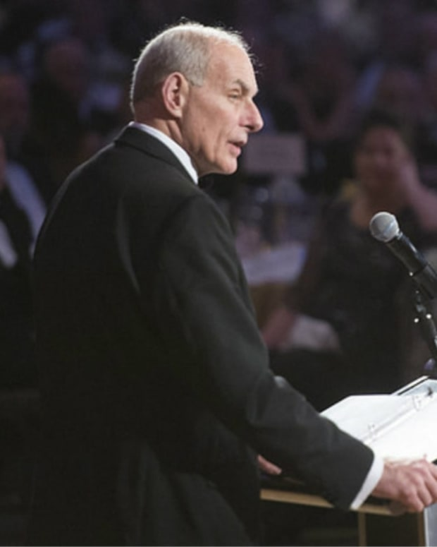 John Kelly To Obama: 'We're Not Hiding Behind A Wall' Promo Image