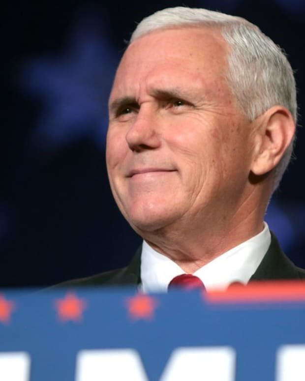 Pence Tells Christian Group: Trump Is 'Unwavering Ally' (Video) Promo Image