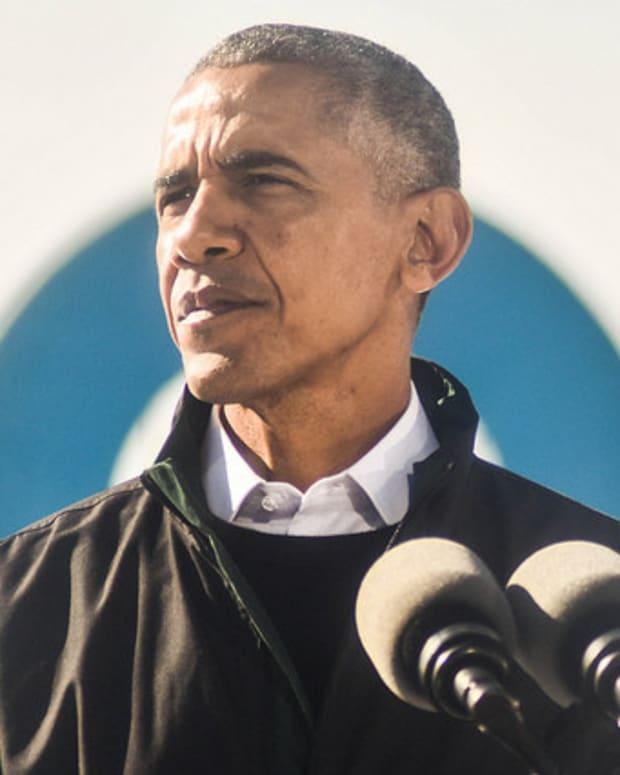 Former President Obama Criticizes Trump Promo Image
