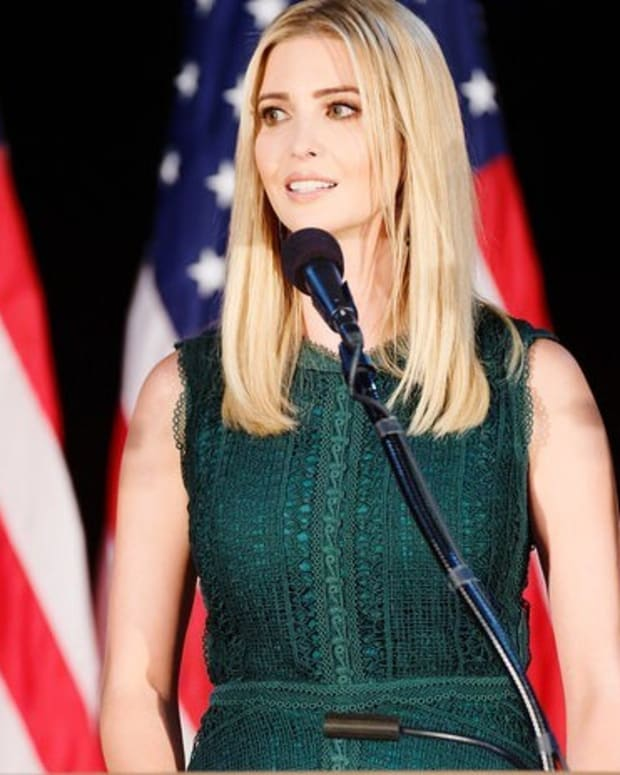 Ivanka Trump's Earrings Don't Match (Photo) Promo Image