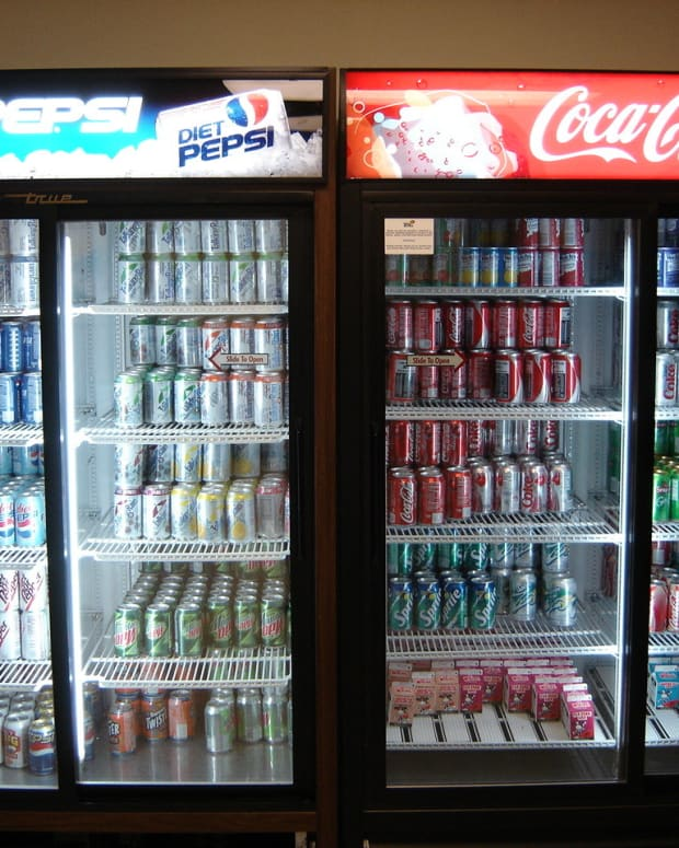 Soda Companies Fund 96 Health Groups In The U.S. Promo Image