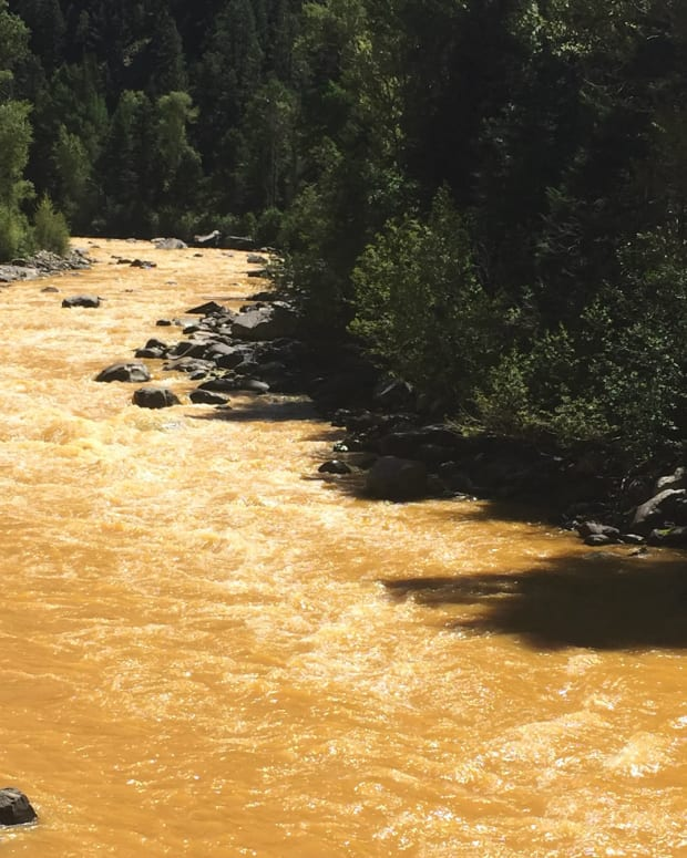 Navajo Nation To Sue EPA Over Animas River Spill Promo Image
