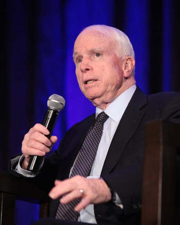 McCain: Syria Strike Leading To A New 'Beginning' Promo Image