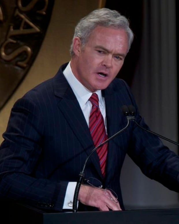 CBS News Anchor Scott Pelley Fired Promo Image