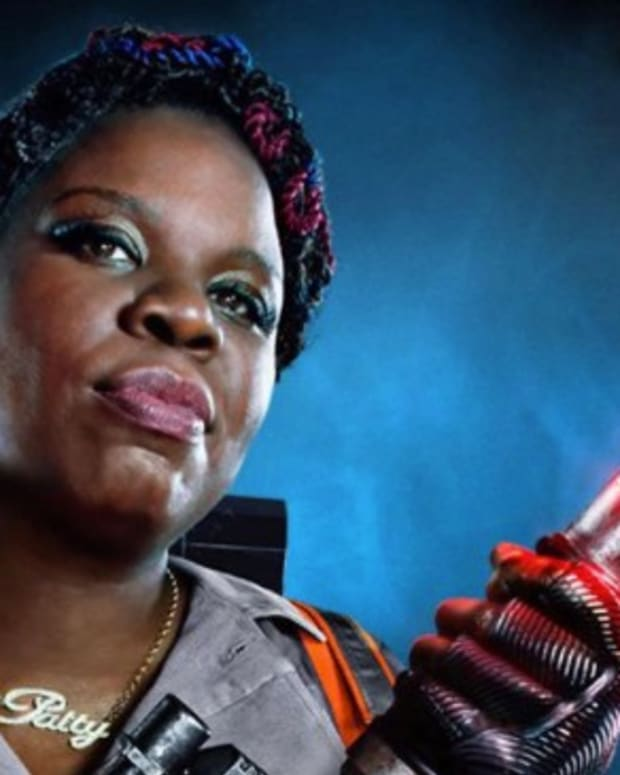 Racists Taunt Leslie Jones After Nude Photos Are Hacked Promo Image