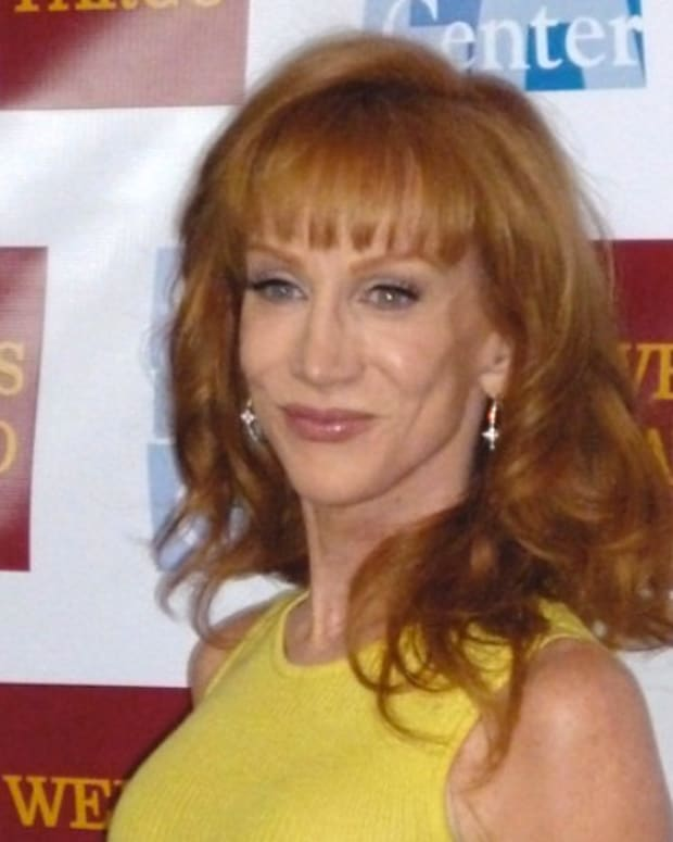 Kathy Griffin Gets Death Threats, Says Career Is Over (Video) Promo Image