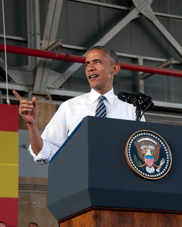 Obama Is First Active President To Publish Academic Paper  Promo Image