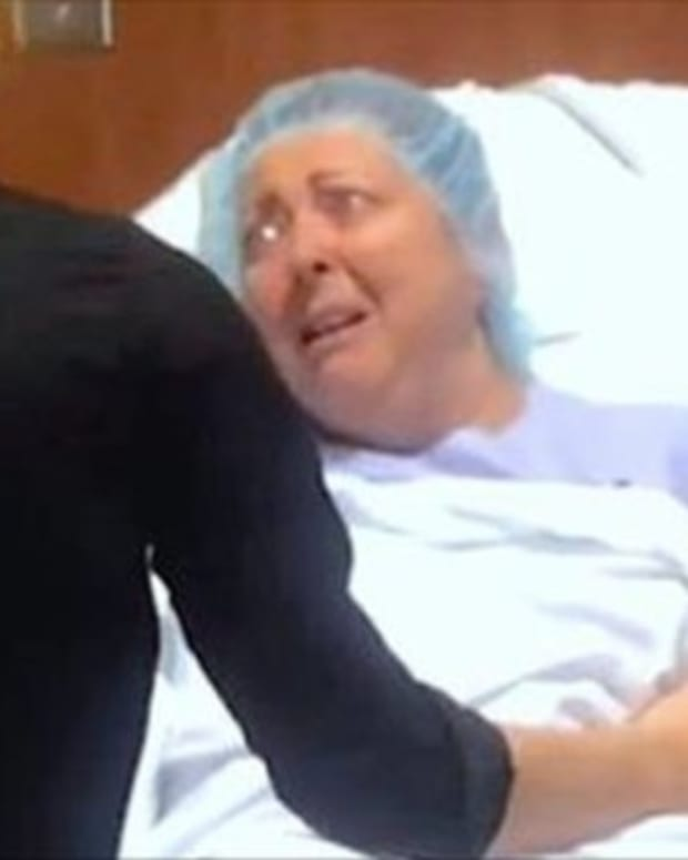 Son Reveals His Big Secret To Mom Just As She's About To Go In For Surgery (Video) Promo Image