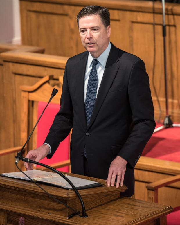 James Comey Should Not Have Been Fired Promo Image