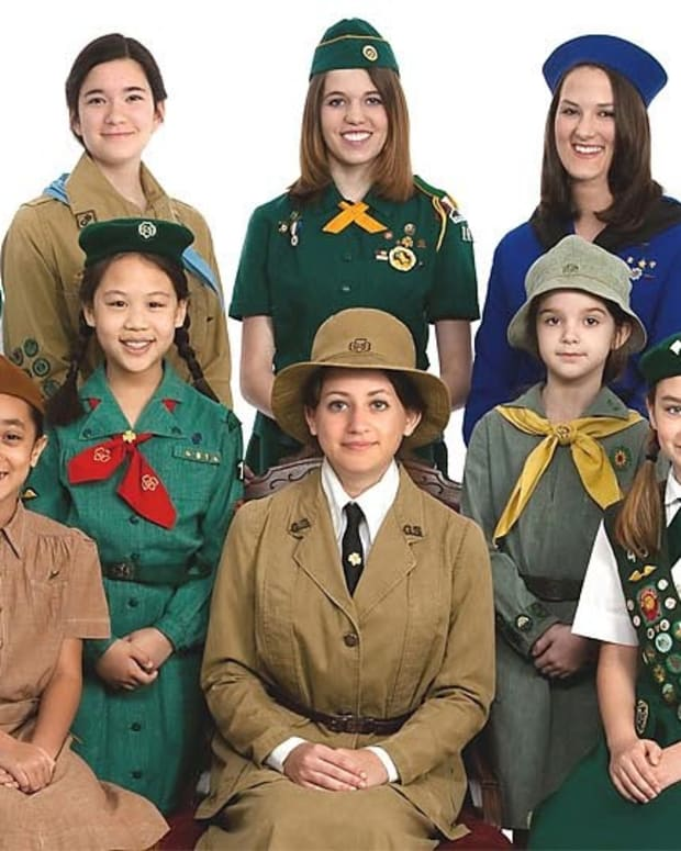 Girl Scouts Under Fire For Attending Inaugural Parade Promo Image