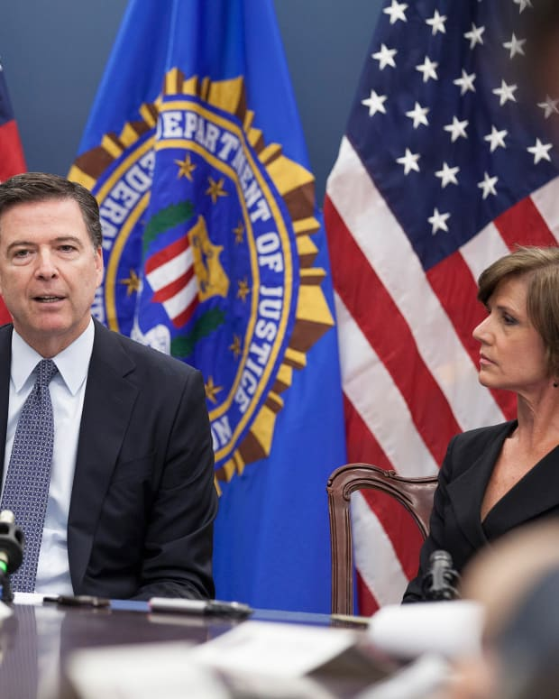 Trump Denies Report He Asked Comey For 'Loyalty' Promo Image