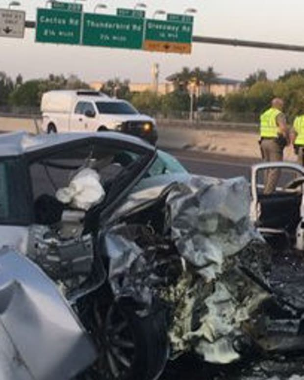 Wrong-Way Crash Kills Three People Promo Image