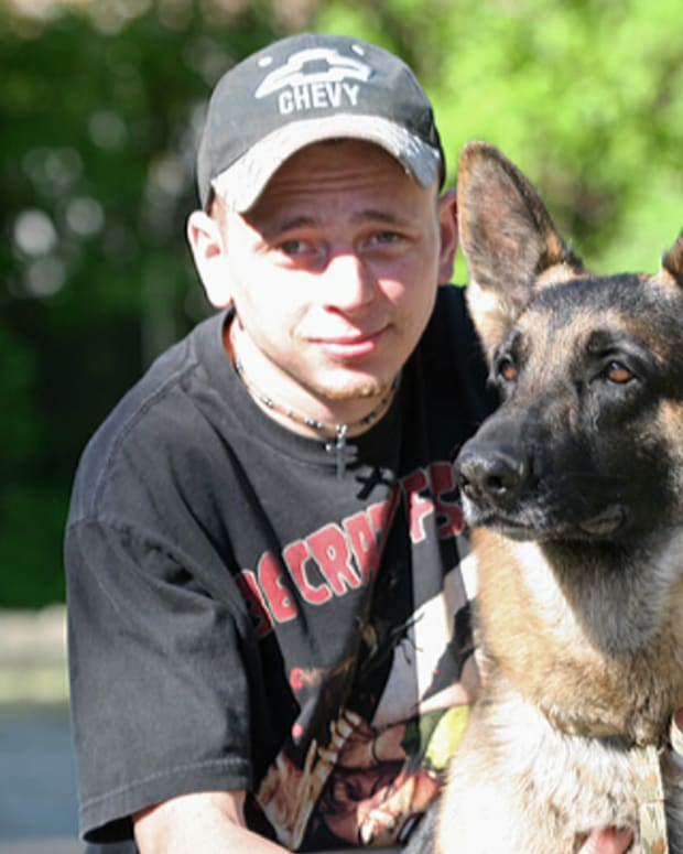 Heroic Dog Guides State Trooper To Inferno (Video) Promo Image