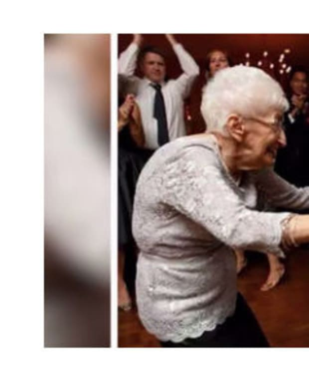 Hunched-Over 86-Year-Old Now Stands Tall Thanks To Yoga (Photos) Promo Image