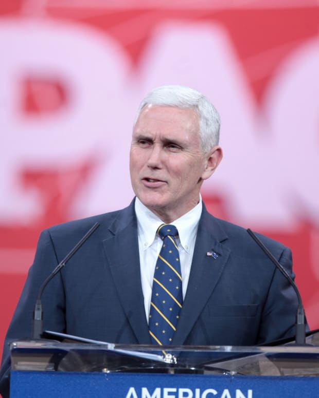 Trump Selects Indiana Gov. Mike Pence As VP Promo Image