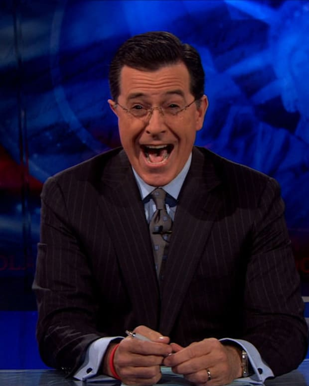 Colbert Accused Of Homophobia Over Trump Comments (Video) Promo Image