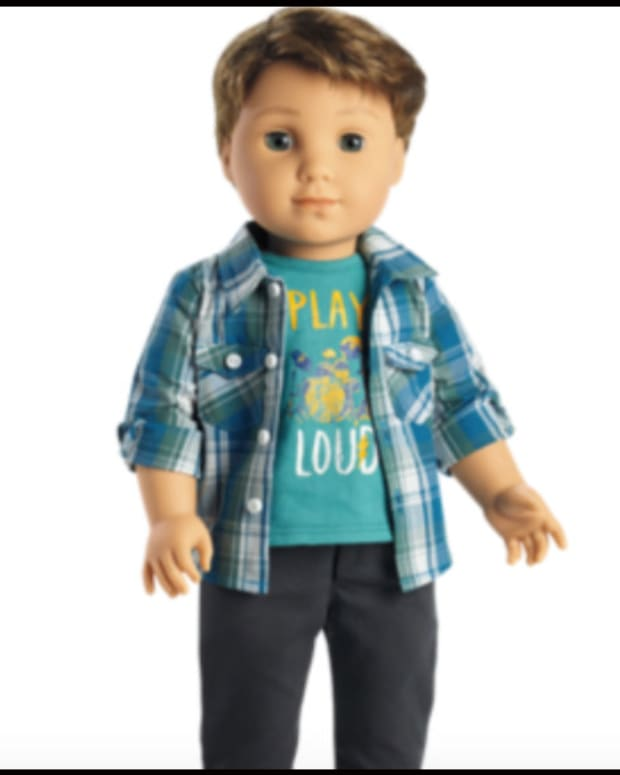 Pastor Upset Over American Girl's New Boy Doll Promo Image