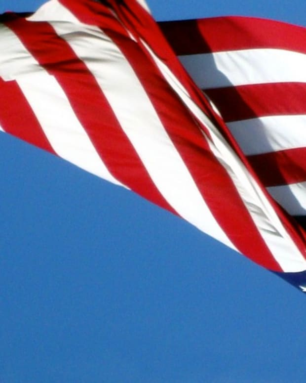 Man Paid $55,000, Arrested For Flying Flag Upside Down Promo Image