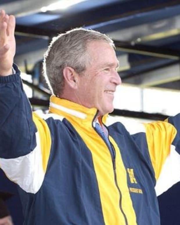 Bush On U.S. Under Trump: 'I Don't Like The Racism' Promo Image