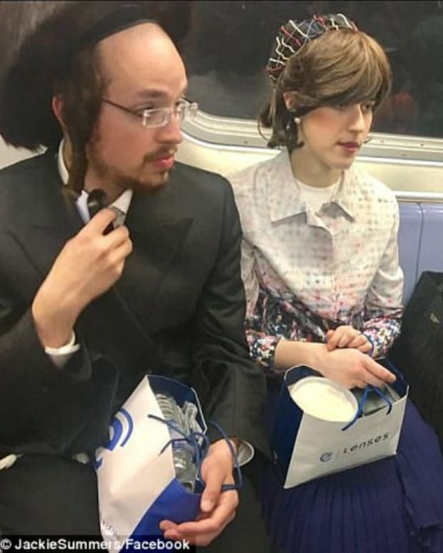 Picture Of Religious Harmony On Subway Goes Viral Promo Image